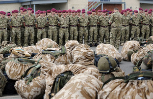 Soldiers prepare to deploy to Afghanistan