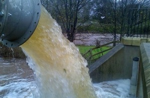 Pumps at Carlisle flood scheme working overtime to reduce flood risk