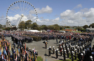 The Armed Forces Day National Event in Plymouth