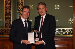 Former NATO Secretary General Rasmussen with the Foreign Secretary