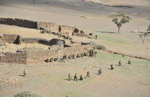 Exercise Jebel Sahara. Picture: 2BIP