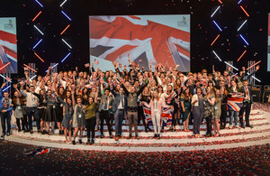 Squad UK announced for WorldSkills Abu Dhabi 2017