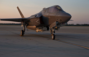F-35B Lightning II. Crown Copyright.