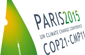 Paris COP21 symbol