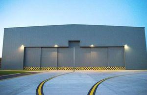 Exterior of the renovated hangar. Crown Copyright. Photo: via MOD