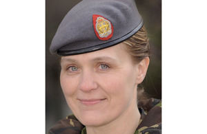 Lieutenant Colonel Sharon Stewart [Picture: Soldier magazine]