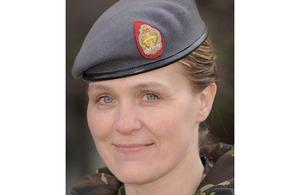 Lieutenant Colonel Sharon Stewart [Picture: Soldier magazine]