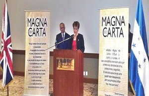 Magna Carta event in Honduras