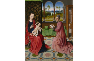 Dieric Bouts' St Luke Drawing the Virgin and Child