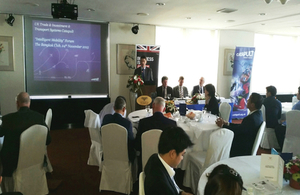 UK Transport Systems Catapult hosts forum in Thailand