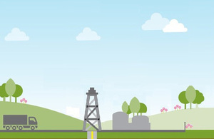 Oil and gas graphic