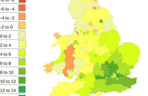 House price heatmap