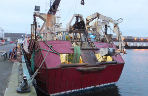 Fishing vessel Beryl