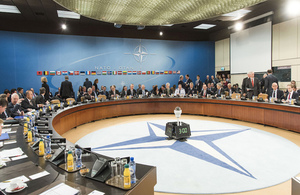 NATO ministers discuss challenges to the south