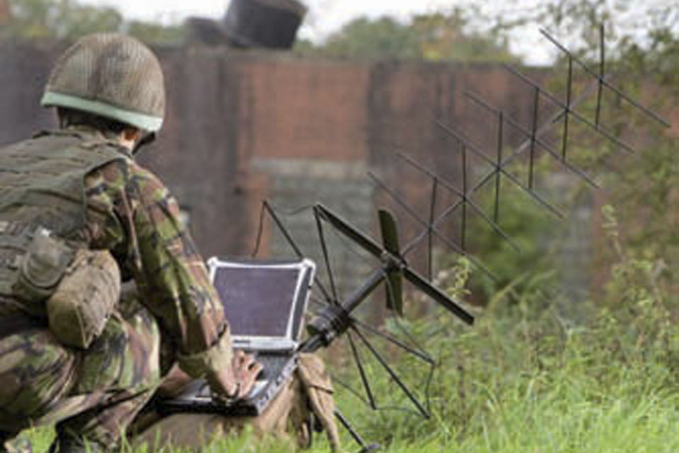 State-of-the-art technology, including the latest antennae and ruggedised laptops, makes life much easier for Tac Signallers