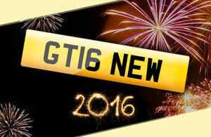 New 16 series personalised registrations