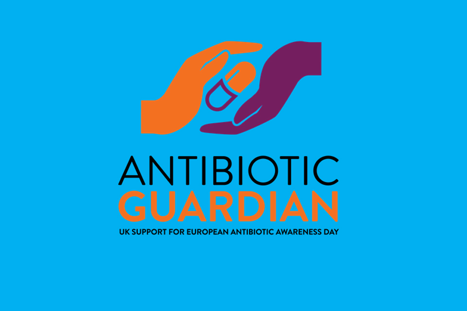 Logo for the Antibiotic Guardian campaign.
