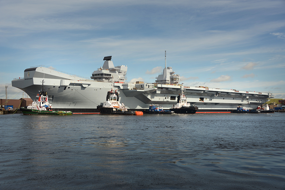 HMS Queen Elizabeth. Picture: Aircraft Carrier Alliance Copyright.