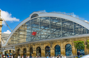 Liverpool Lime Street railway station.