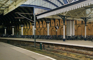 York railway station.