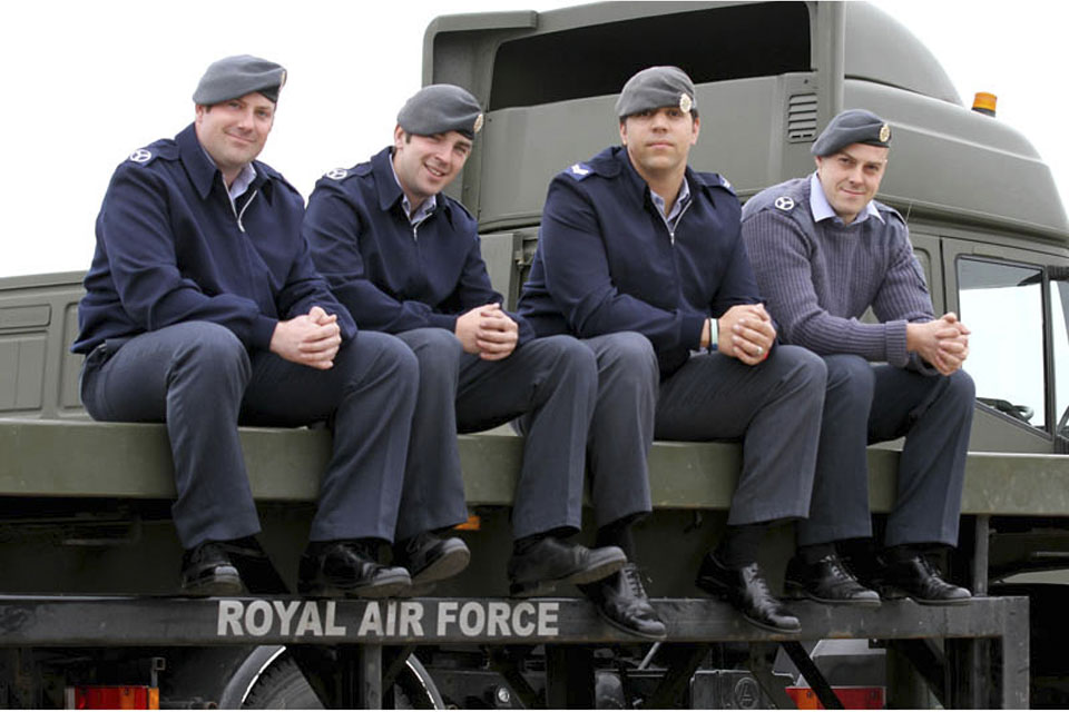 Fitters from 5001 Squadron who deployed to Italy in support of the air strikes in Libya