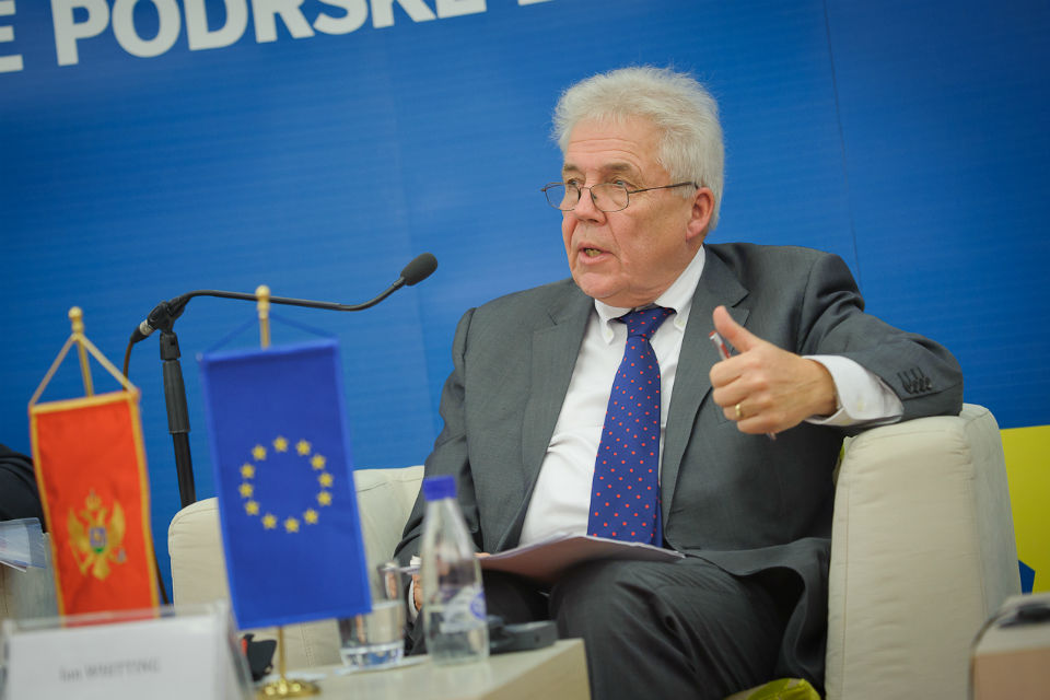 """Photo from final conference """"Communicating EU Accession and IPA Assistance in Montenegro"""""""