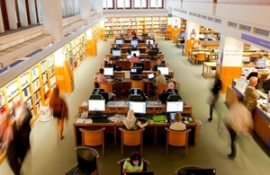 Business & IP Centre in the British Library. Photo credit: British Library