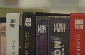 Large print books
