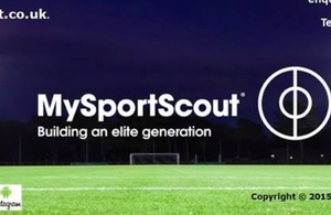 MySportScout website