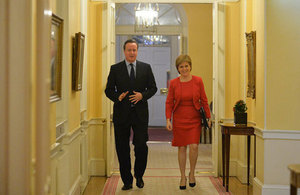 PM welcomes FM to Downing Street