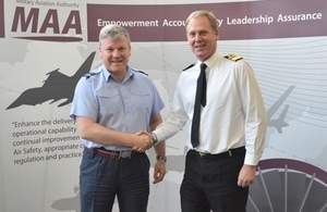 Military Aviation Authority (MAA) Welcomes New Director