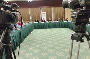 Labour rights of journalists and media workers in Macedonia in focus within a British Embassy supported project.