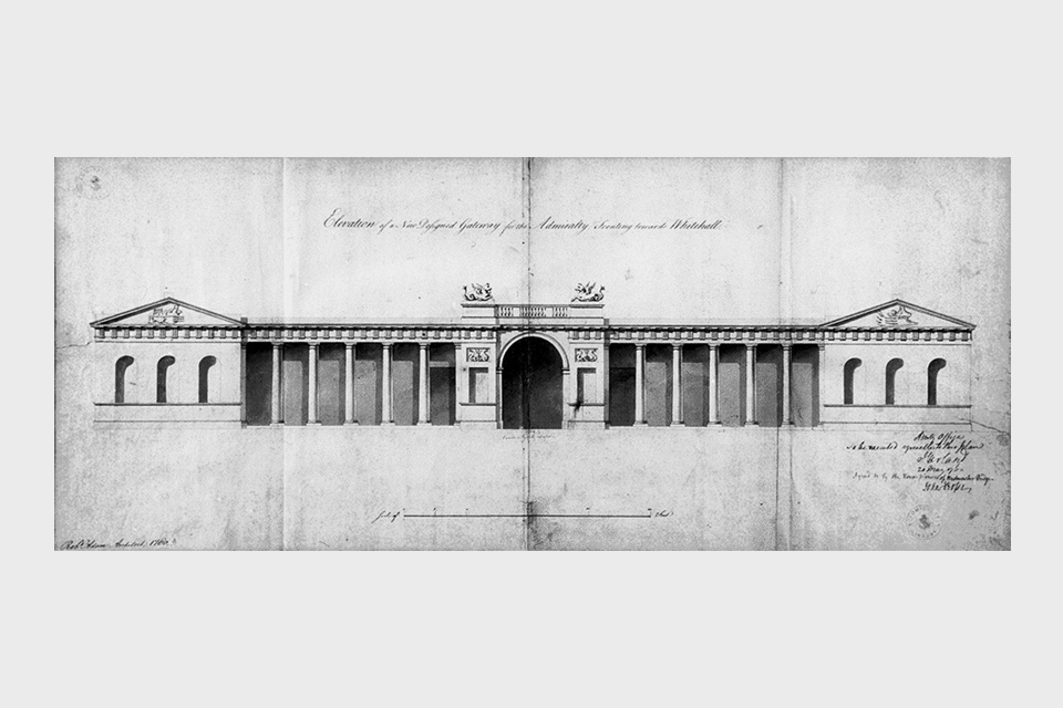 Gateway to the Admiralty, 1760