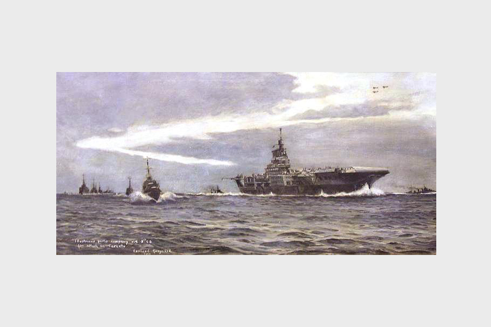 HMS 'Illustrious': The Attack on Taranto