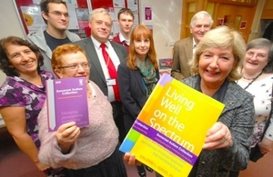 Launch of the Somerset libraries autism collection