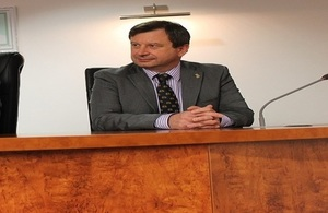 British High Commissioner, Paul Arkwright