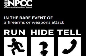 Stay safe leaflet image