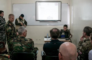 Ambassador Shorter visits Lebanon's Border area Chadra