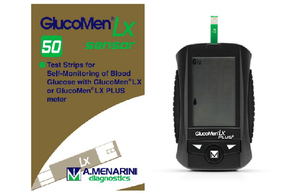 GlucoMen LX Sensor test strips device
