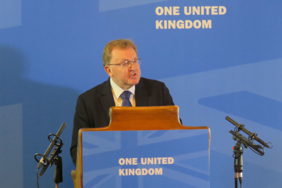 David Mundell: Devolution in Scotland - the next great debate speech -  GOV.UK