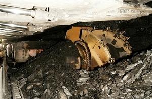 Kellingley Colliery coalface
