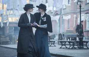 Still from Suffragette (Pathé UK)