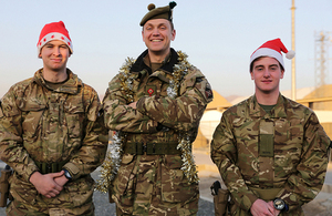 Members of 5th Battalion The Royal Regiment of Scotland in Kabul [Picture: Cpl Scott Crown Copyright]