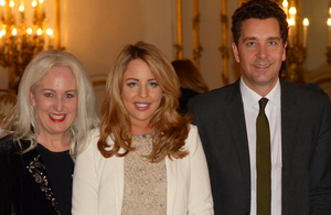 Edward Timpson, Debbie Douglas and Lydia Bright