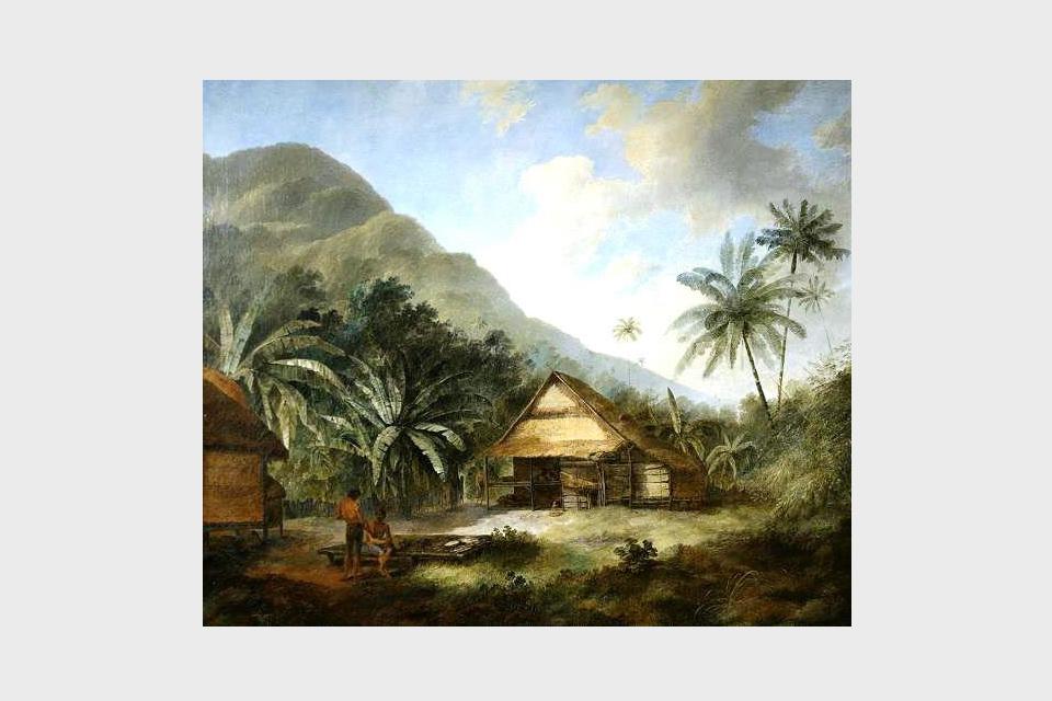 Krakatoa, an Island in the China Seas, 1784