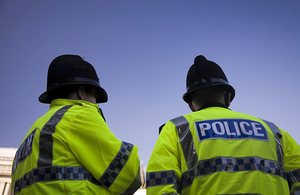 Policemen in the UK. Copyright iStock.