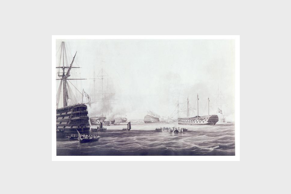The Opening of Sheerness Docks, 5 September 1823