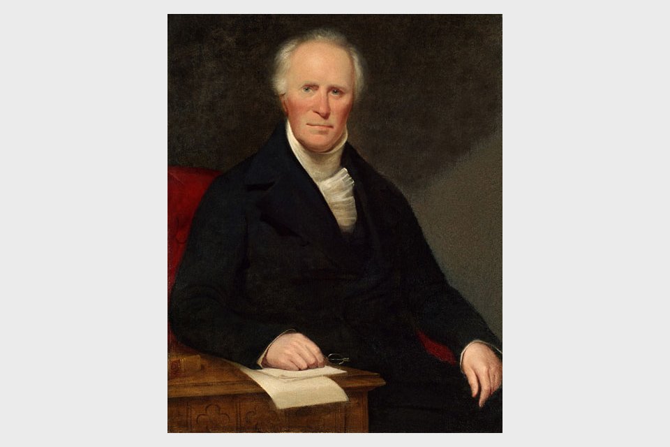 The Reverend James Inman (1776 to 1859)