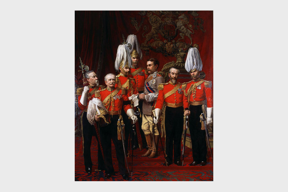 The Gentlemen at Arms (The Royal Bodyguard), 1892
