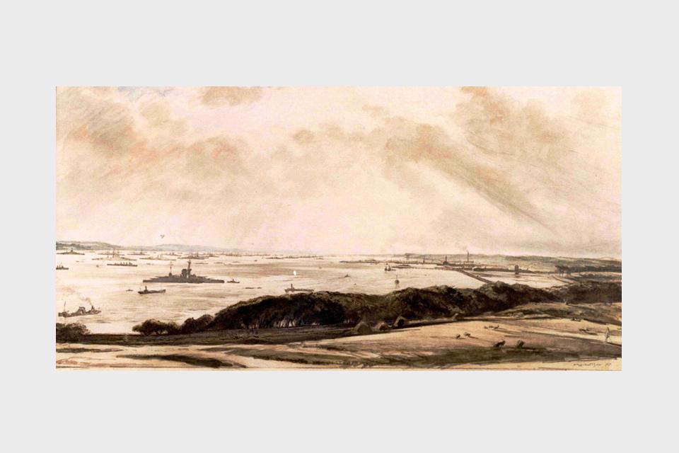 The Grand Fleet, 1916